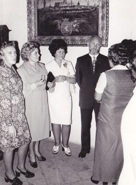 Zdeňka Vágnerová delegace