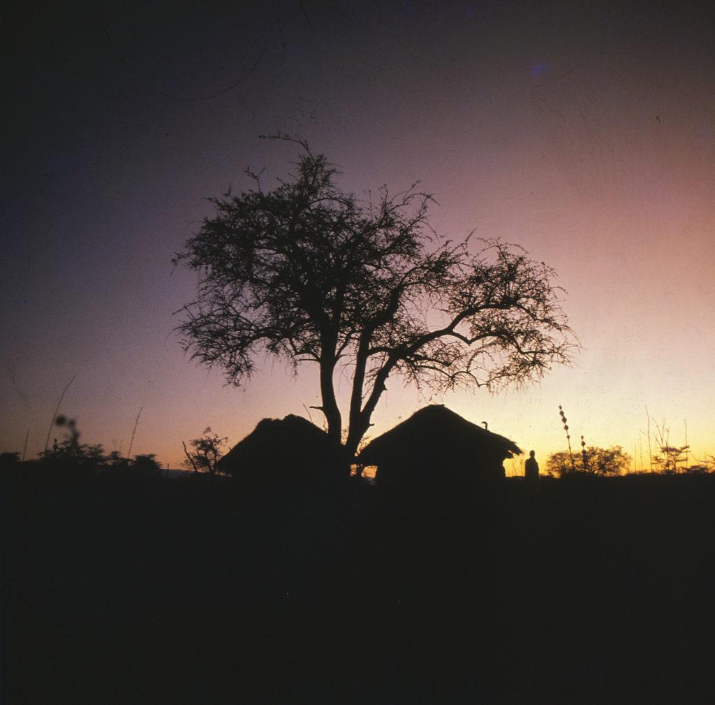 zapad slunce afrika